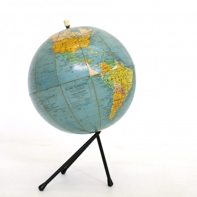 Little Girard et Barrère world globe from the sixties