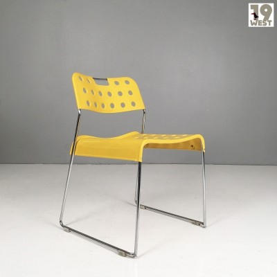 1970's Omstak chair by Rodney Kinsman for Bieffeplast