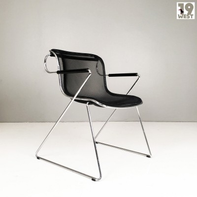 1980's Penelope chair by Charles Pollock for Castelli