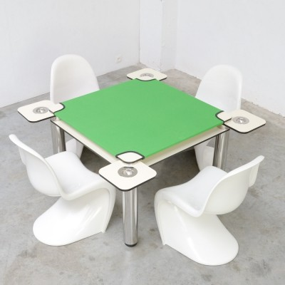 Poker - Card Table by Joe Colombo for Zanotta, 1968