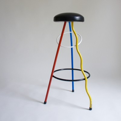 Duplex Bar Stool By Javier Mariscal For BD Barcelona