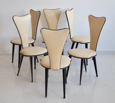 Set of Chairs by Umberto Mascagni