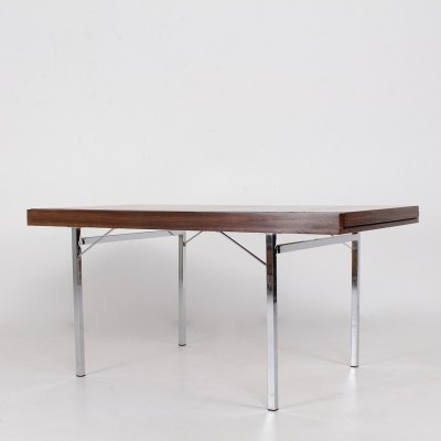 Pieter de Bruyne extendable rosewood table