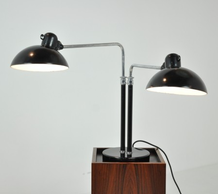 Double Table Lamp by Christian Dell, Germany 1940s