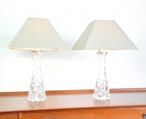 Pair of Table Lamps by Carl Fagerlund, Sweden 1960s