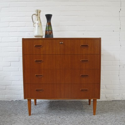 Vintage Danish chest of drawers by MS, 1960s