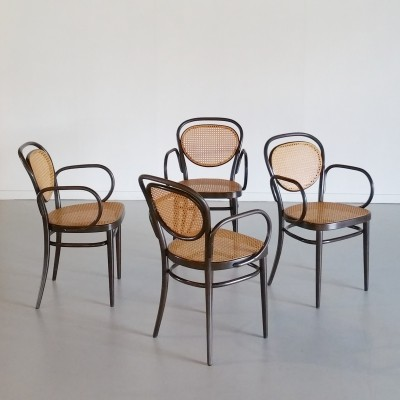 Set of 4 'No. 215' Thonet Chairs, 1985