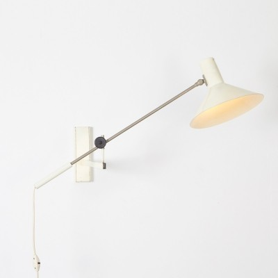 J. Hoogervorst 'Model 7105' Wall Lamp by Anvia, 1960s