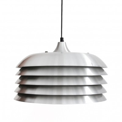 Aluminum design 'Model T742' pendant by Hans Agne Jacobsson
