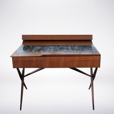 Italian Mid-Century Modern Walnut Dresser by Ico & Luisa Parisi for Altamira, 1942