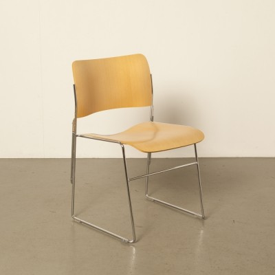 100 x 40/4 dining chair by David Rowland for Howe, 1960s