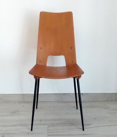 Carlo Ratti Dining Chair, Italy 1950s