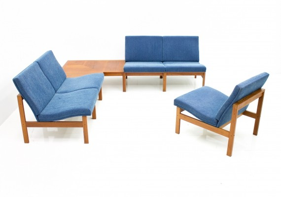 Torben Lind Modular Seating Group with Corner Table by France & Son, 1965