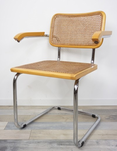 8 x Model B64 Armchair By Marcel Breuer, 1970s
