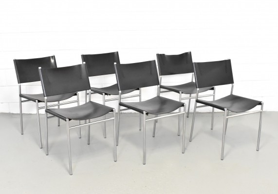 Set of 6 SE06 dinner chairs by Martin Visser for Spectrum, 1990s