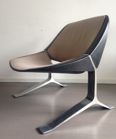 Lounge chair by Knut Hesterberg for SelectForm, 1970s
