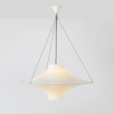 Yki Nummi Sky Flyer XL Hanging Lamp by Stockmann Orno, 1960