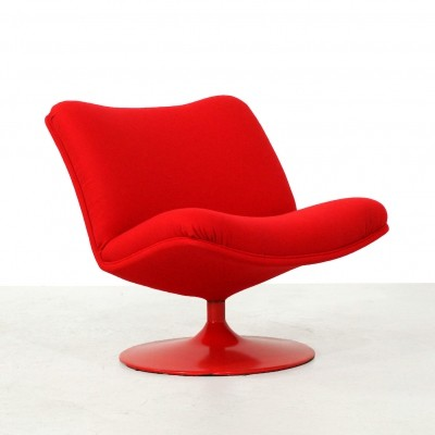 Artifort F504 Lounge Chair by Geoffrey Harcourt
