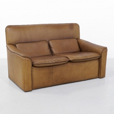 1970s Leolux 2 Seater Sofa in Neck Leather