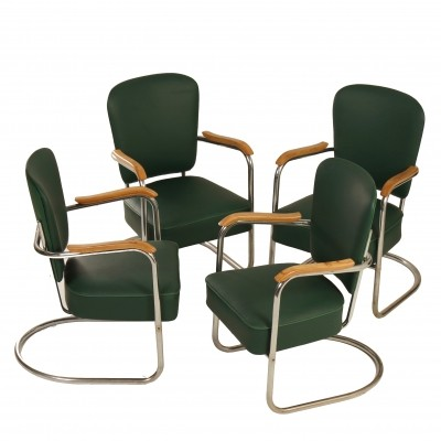 Fana Armchairs With Armrests, 1935