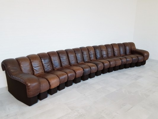 De Sede DS-600 'non stop' sofa from the 1970s