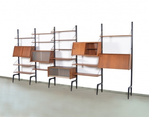 Wall unit by Louis van Teeffelen for Wébé, 1960s