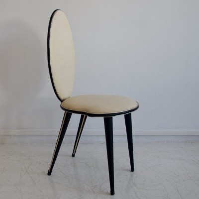Umberto Mascagni Faux Leather Chair