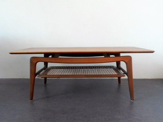 Vintage coffee table by Wébé, The Netherlands 1950's/1960's