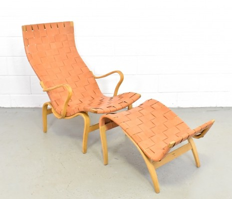 Pernilla lounge chair by Bruno Mathsson for Karl Mathsson, 1960s