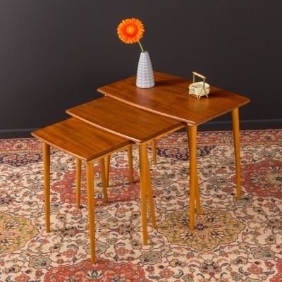 German nesting tables from the 1960s