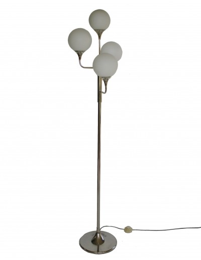 Vintage chrome floor lamp, Italy 1960s