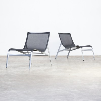Pair of Model 148 lounge chairs by Alberto Meda for Alias, 1990s