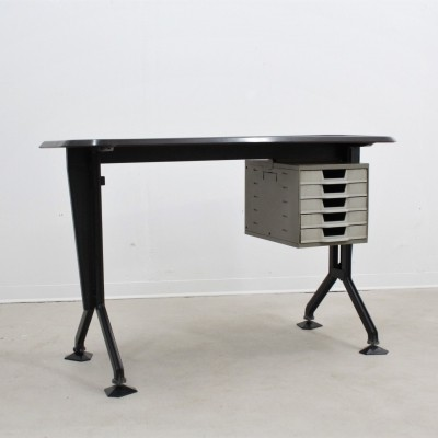 Vintage Arco series desk by Olivetti