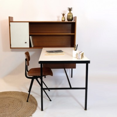 Desk & shelf from the sixties