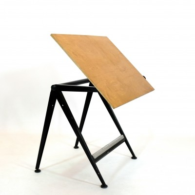 Reply drafting table by Wim Rietveld & Friso Kramer for Ahrend de Cirkel, 1958