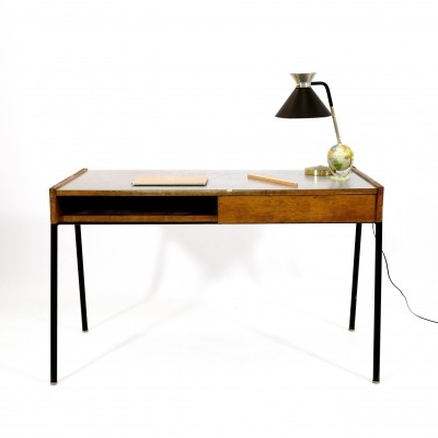 French student desk produced in the fifties