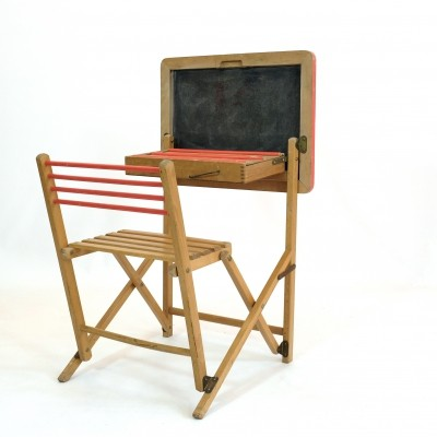 Vintage Writing desk, 1980s