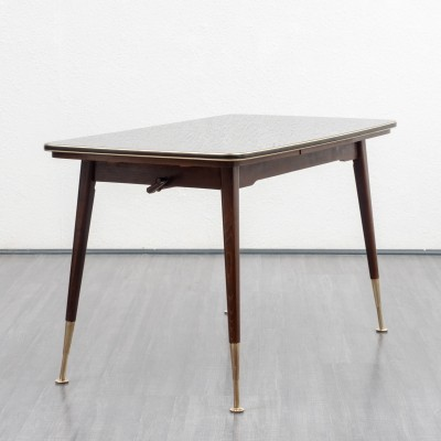 1950s height-adjustable dining table / coffee table