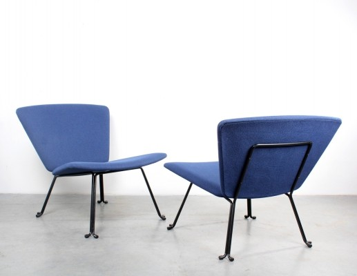 Pair of Slipper lounge chairs, 1960s