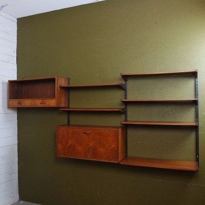 Vintage modular wall unit, 60's