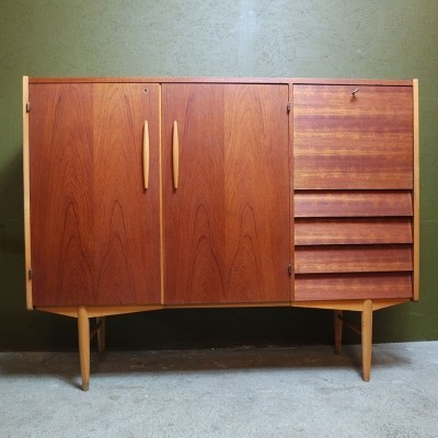 Scandinavian design Mid-century Highboard, 1960s