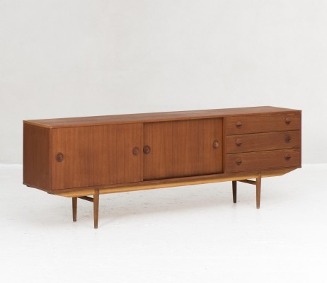 Modernart series Sideboard in teak by William Watting for Fristho