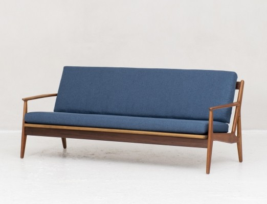 3-seater 'model 6' sofa by Arne Vodder for Vamo Soderberg, 1950s