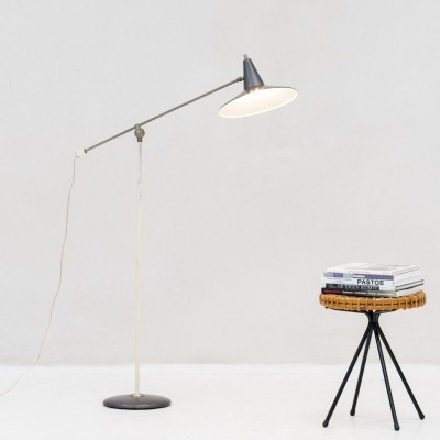 Floor lamp by Wim Rietveld for Anvia, the Netherlands 1950s