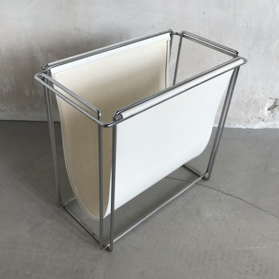Rare Magazine Rack Storage Box by Max Sauze, France 1970s