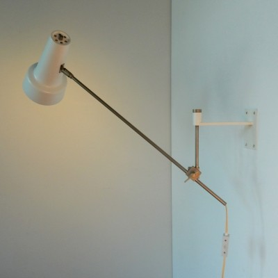 Model 55 adjustable wall light by Willem Hagoort for Hagoort Lighting