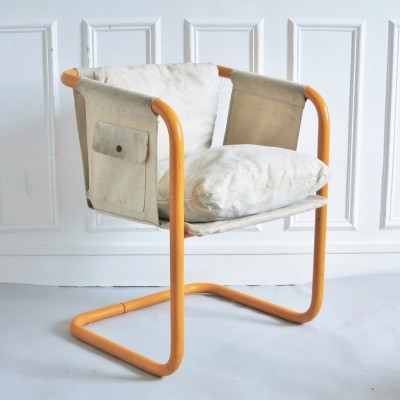 Twentytube arm chair by Marc Berthier for Roche Bobois, 1970s