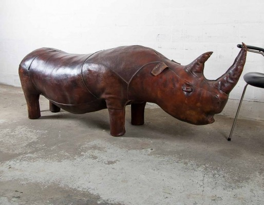 Big Rhinoceros bench by Valenti, 1960s