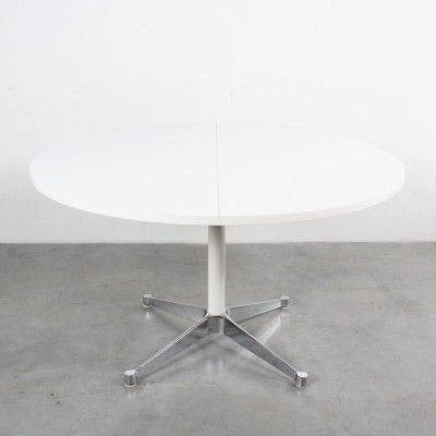 Extendable contract base dining table by Charles & Ray Eames for Herman Miller, 1960s