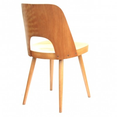 Model 515 dining chair by TON, 1960s